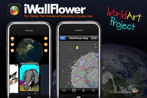 iWallFlower HD - World Art Project - Participate!