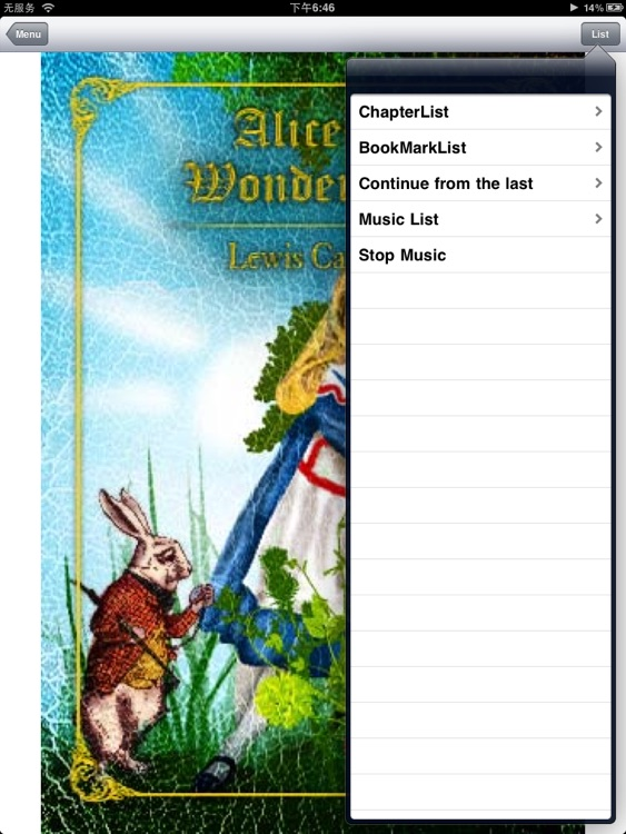 Alice's Adventures in Wonderland, Lewis Carroll screenshot-2