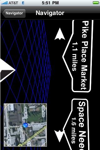 Heads Up Navigator: 3D Augmented Reality Navigation screenshot-3