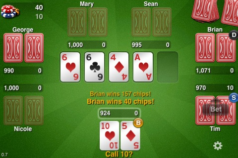 THTouch - Texas Holdem Poker screenshot-0