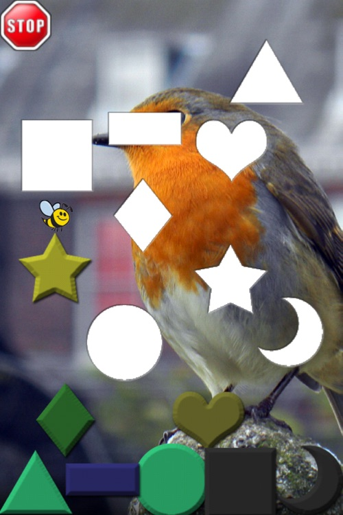 A Bee Sees Puzzles - Learn Shapes, Letters, and Numbers screenshot-3