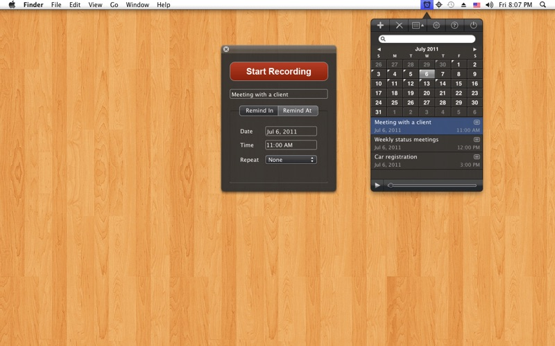 Voice Reminder EX Screenshot