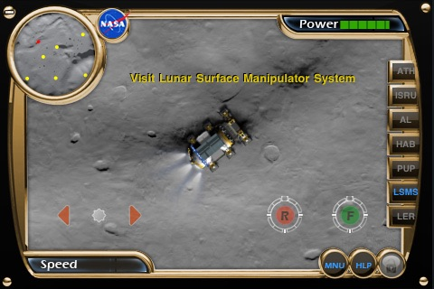 NASA Lunar Electric Rover Simulator screenshot-0