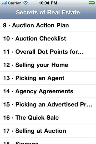 Secrets of Real Estate screenshot 2