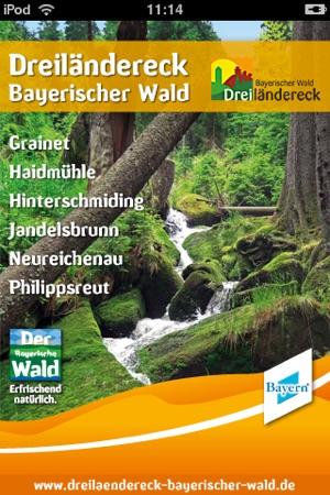 Dreiländereck Bayerischer Wald Karte.Dreiländereck Bayerischer Wald 4