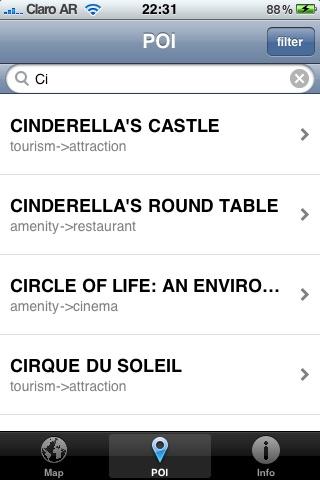Walt Disney Word Offline Map screenshot-3