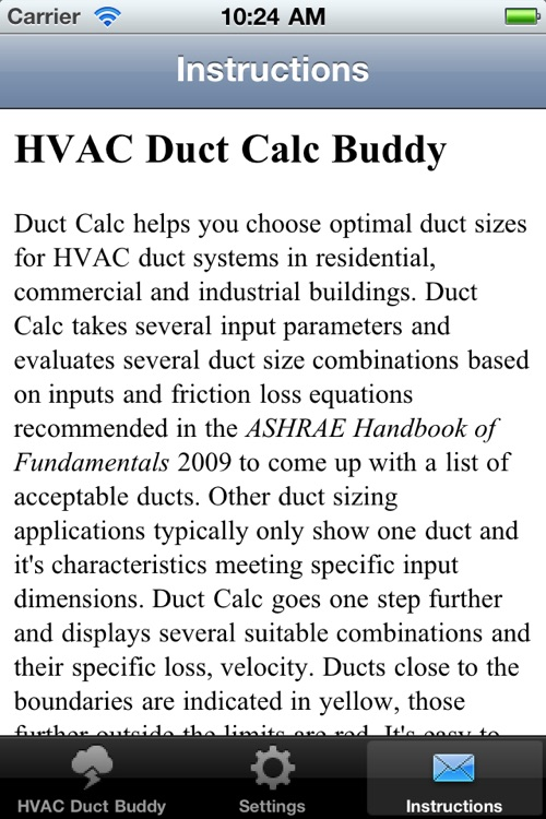HVAC Buddy® Duct Calc screenshot-3