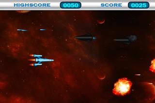 Space War Game HD Lite screenshot three