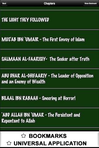 Life of 60 Sahaba ( Islam Quran Hadith - Ramadan Islamic Apps ) screenshot-4