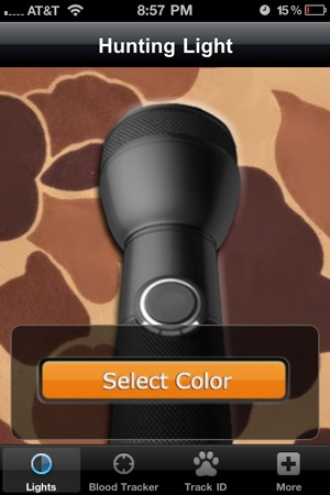 Hunting light blood tracker on the app store iphone screenshots aloadofball Image collections