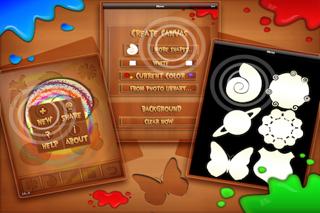 Spin It! Art Machine Lite screenshot three