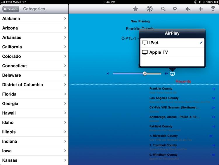 Scanner Radio - iPad Edition screenshot-4