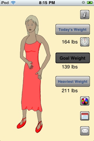 Virtual Weight Loss Model Lite screenshot-3