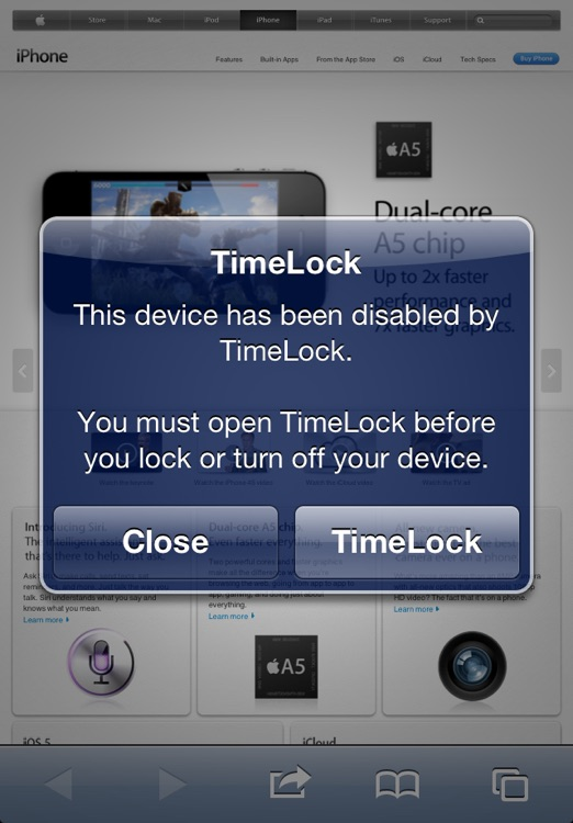 TimeLock - Time Limit for Parents