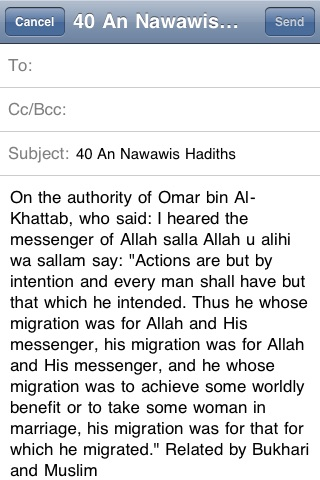 40 An Nawawis Hadiths (Islam) screenshot-3