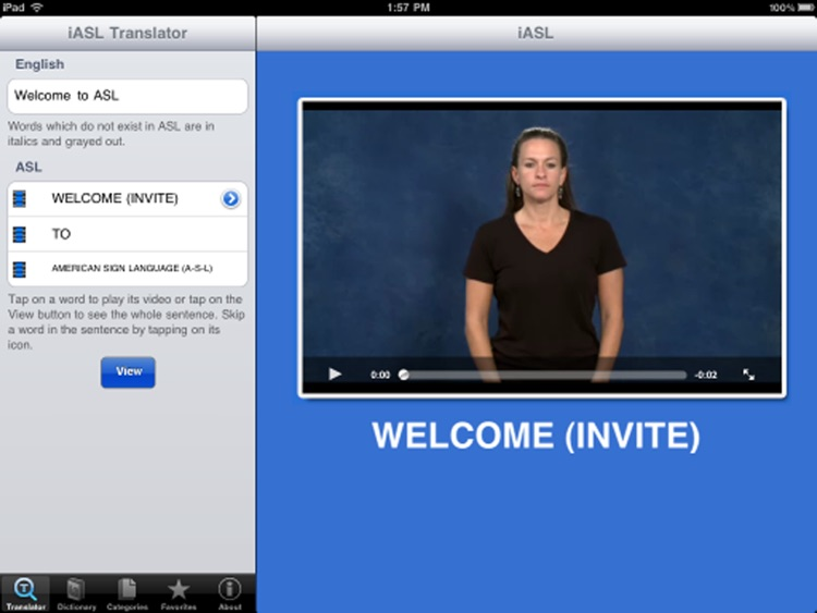 iASL for iPad screenshot-4