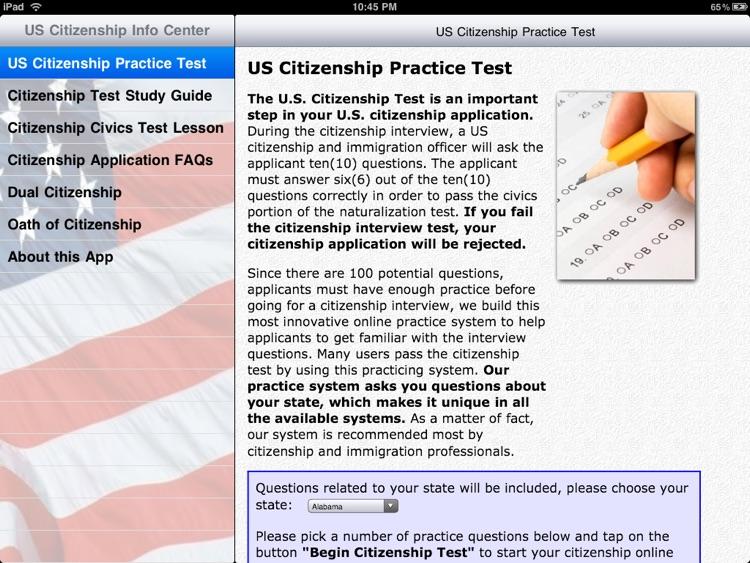 Free US Citizenship Test screenshot-3