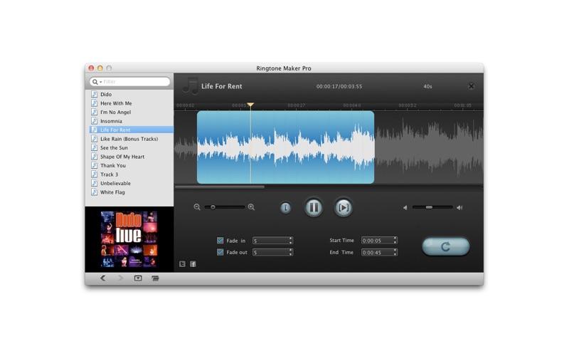 Ringtone Maker Pro Screenshot