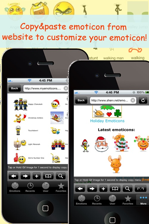 All 2D&3D Animations+Emoji PRO(FREE) For MMS,EMAIL,IM! screenshot-4