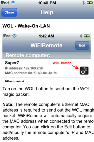 Foto do All-in-one WiFiRemote Free