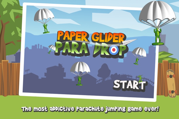 Paper Glider Para Drop