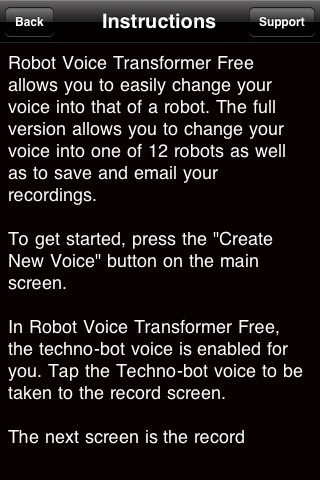 Free Robot Voice Transformer screenshot-3