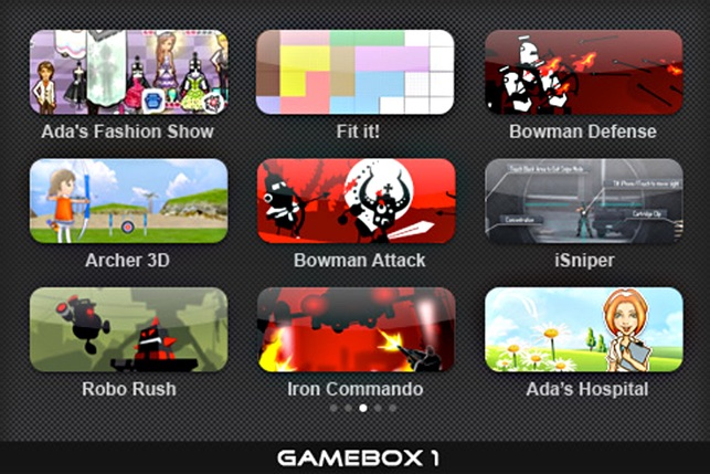 Gamebox 1 On The App Store