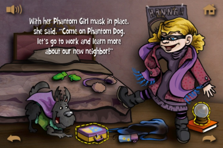Violet and the Mystery Next Door Lite - Interactive Children's Storybook