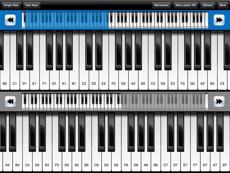 Pocket Piano HD screenshot-1