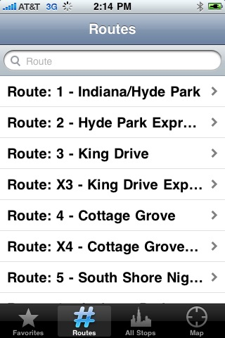 myTransit - CTA screenshot-2