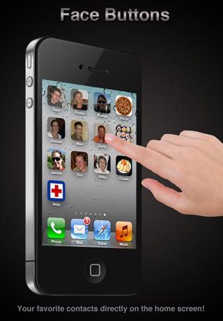 Face Buttons Free screenshot one