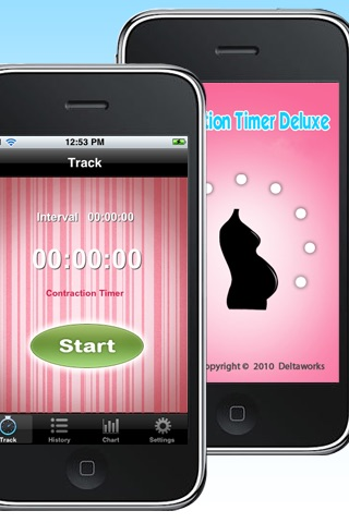 Contraction Timer Free