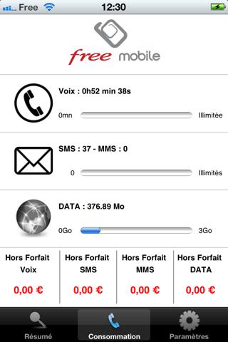 [MàJ] Free Mobile Conso, application gratuite pour suivre sa consommation Free Mobile-capture-2