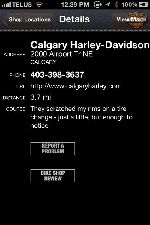 iFIND - Harley Davidson Shop Finder (USA and Ca... screenshot-3