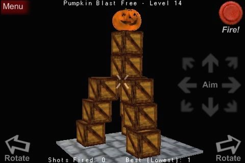 Pumpkin Blast Free screenshot-3