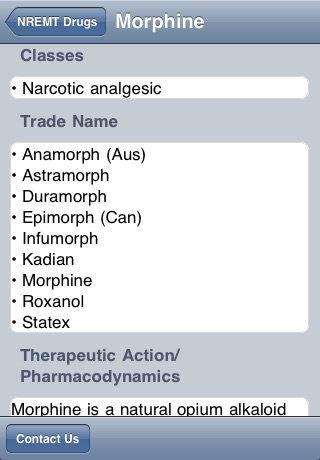NREMT Paramedic Medications