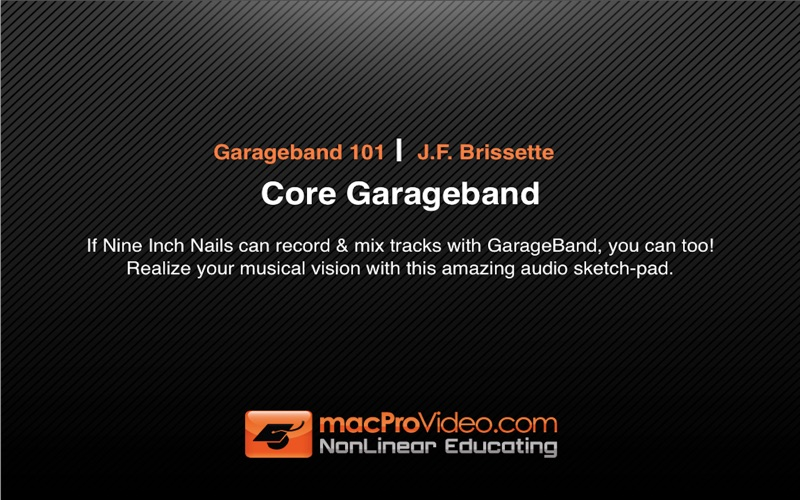 Course For GarageBand '09   App Price Drops