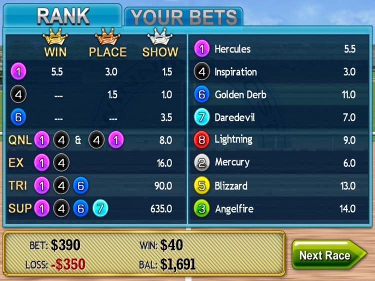 Virtual Horse Racing 3D HD screenshot-4