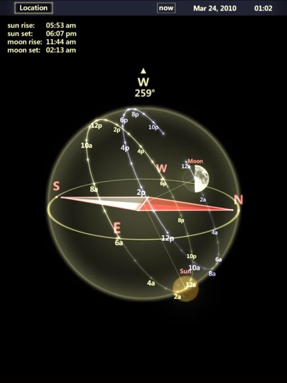 3D Sun&Moon Compass HD