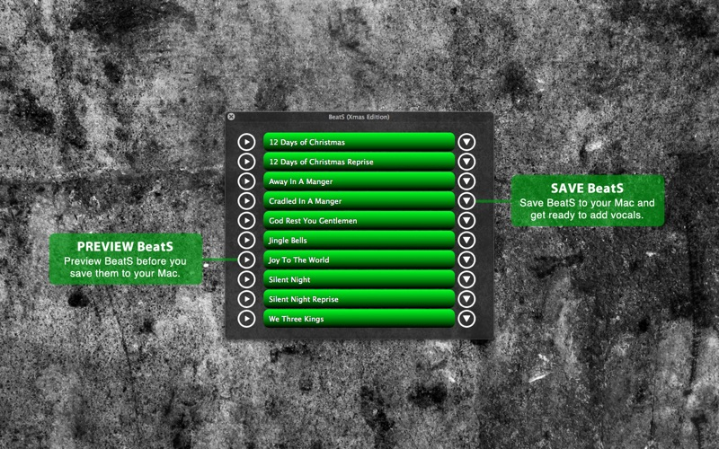 BeatS Xmas Edition Screenshot