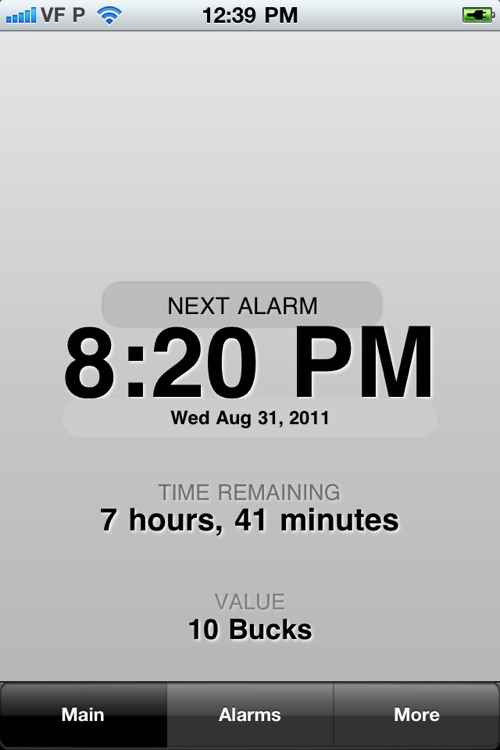Wake Up with TimeIsMoney Alarm Clock