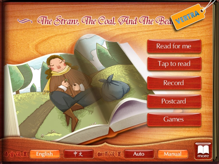 Finger Books-The Straw The Coal And The Bean HD