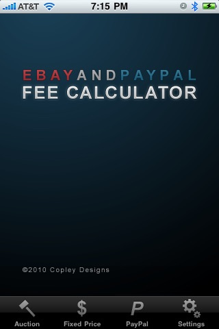 eBay & PayPal Fee Calculator