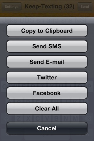 Keep-Texting screenshot-3