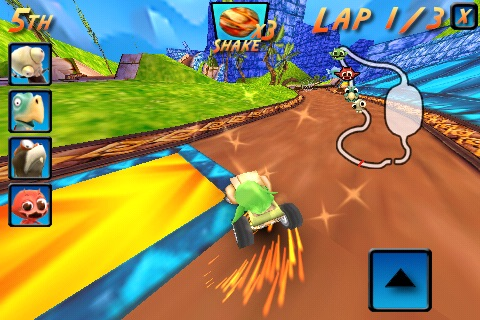 Cocoto Kart Free screenshot-0