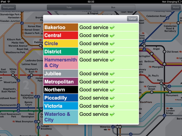London Tube for iPad screenshot-3