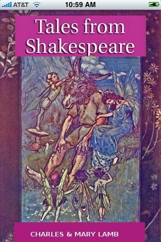 Illustrated Tales from Shakespeare (with color illustrations) screenshot one