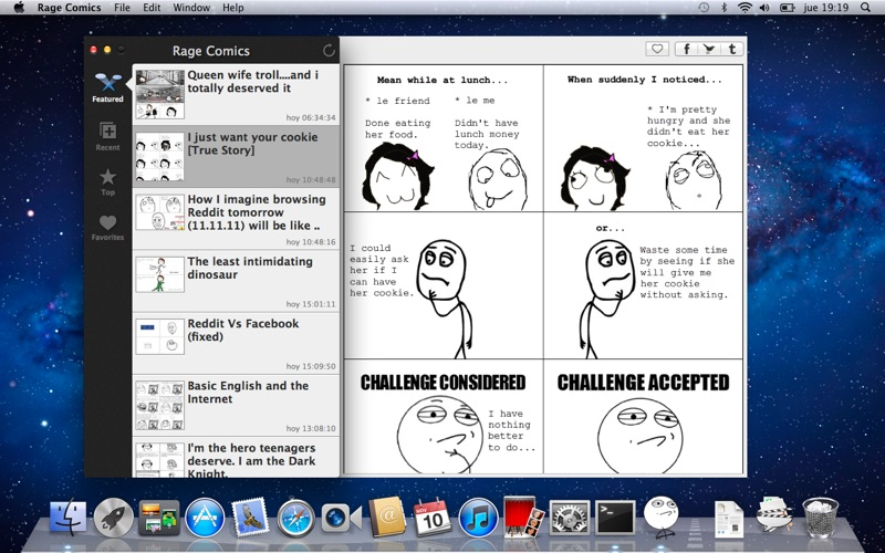 Rage Comics Screenshot