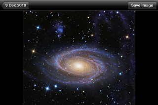 APODViewerLite - Astronomy Picture of the Day screenshot two