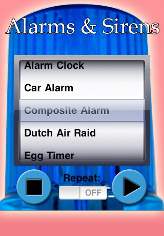Alarms and Sirens